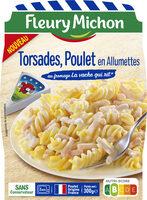Torsades Poulet en Allumettes au fromage La vache qui rit® - Produit