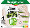Le Jambon Zéro Nitrite BIO 4 tranches - Product