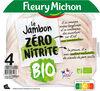 Le Jambon Zéro Nitrite BIO 4 tranches - Produkt