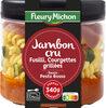 Jambon cru, fusilli, courgettes grillées, sauce pesto rosso - Product