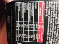 Jambon cru, fusilli, courgettes grillées, sauce pesto rosso - Nutrition facts