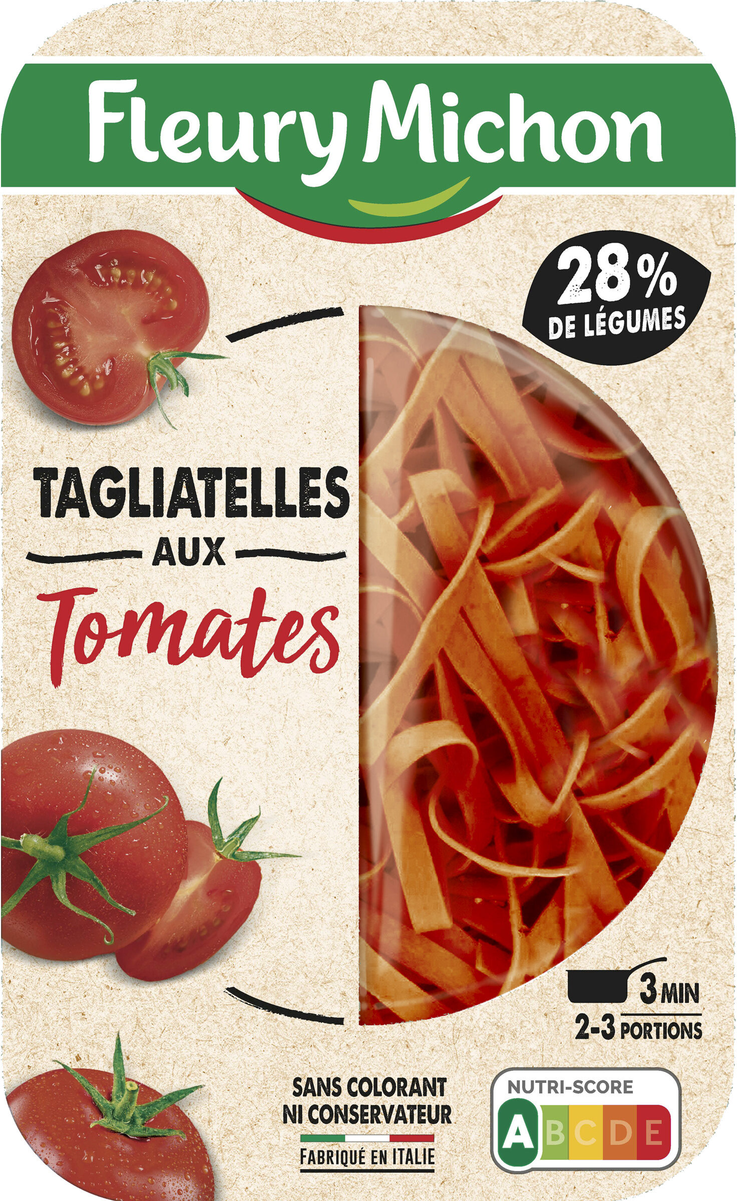 Tagliatelles aux tomates - Produit - fr