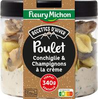 Poulet Conchiglie & Champignons à la Crème - Product - fr