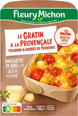 Le Gratin à la provençale pecorino & herbes de provence - Produit - fr