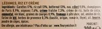 Le Gratin à la provençale pecorino & herbes de provence - Ingredienti - fr