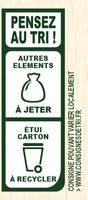 Le Gratin à la provençale pecorino & herbes de provence - Istruzioni per il riciclaggio e/o informazioni sull'imballaggio - fr