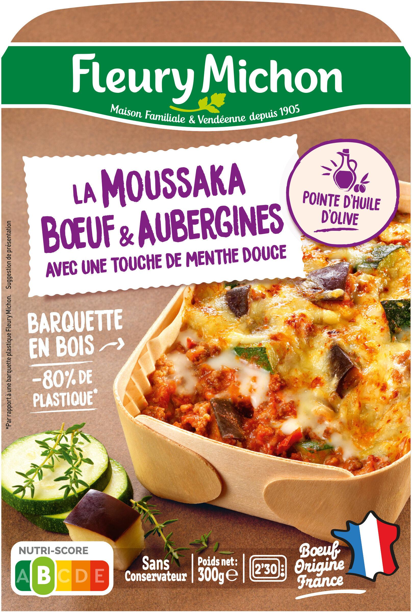 La Moussaka Boeuf & Aubergines avec une touche de menthe douce - Produit - fr