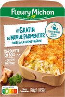 Le Gratin de Morue Parmentier purée à la crème fraîche - Product - fr