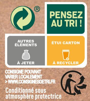 Le Gratin de Morue Parmentier purée à la crème fraîche - Recycling instructions and/or packaging information - fr