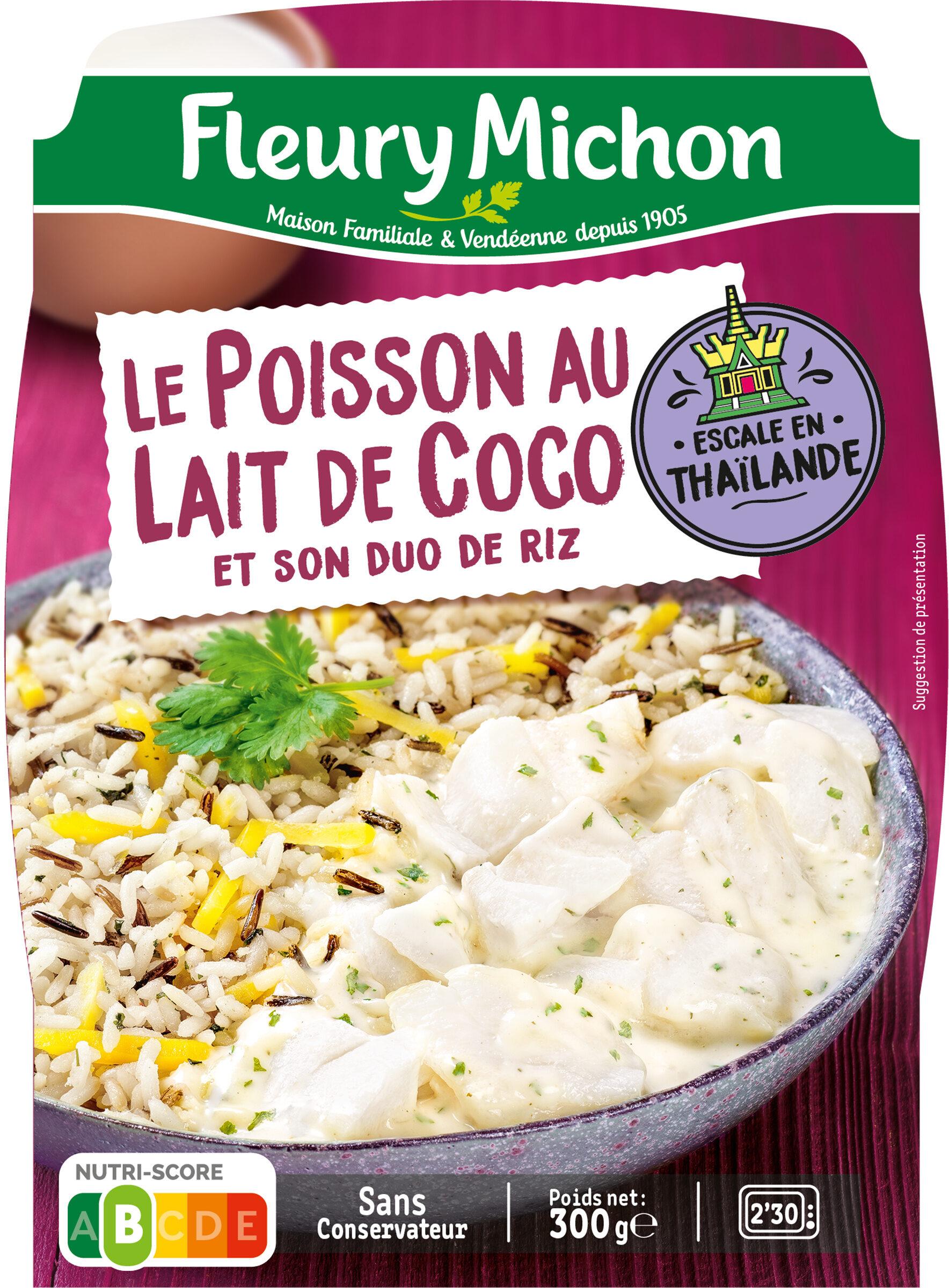 Le Poisson au lait de coco et son duo de riz - Produit - fr