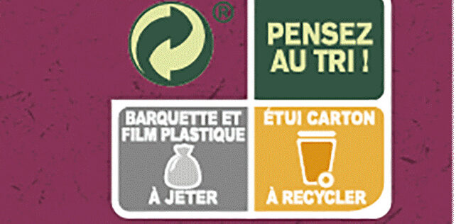 Le Poisson au lait de coco et son duo de riz - Instruction de recyclage et/ou informations d'emballage - fr