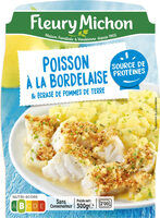 Poisson à la Bordelaise & écrasé de pommes de terre - Product - fr