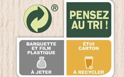 Poisson à la Bordelaise & écrasé de pommes de terre - Recycling instructions and/or packaging information - fr