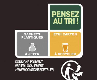 Le poulet à la basquaise poivrons cuisinés et riz - Recycling instructions and/or packaging information - fr