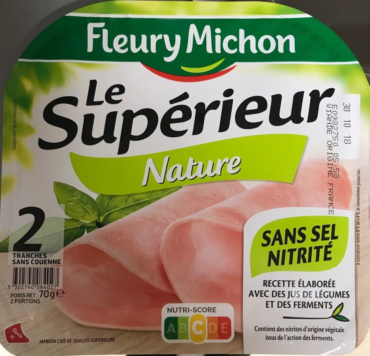 Le superieur nature - Product