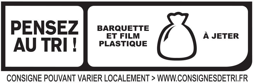 Le supérieur nature - tranches fines-  25% de sel* - 6 tranches - Istruzioni per il riciclaggio e/o informazioni sull'imballaggio - fr