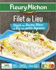 Filet de Lieu Sauce au Beurre Blanc et Riz aux petits légumes - Product