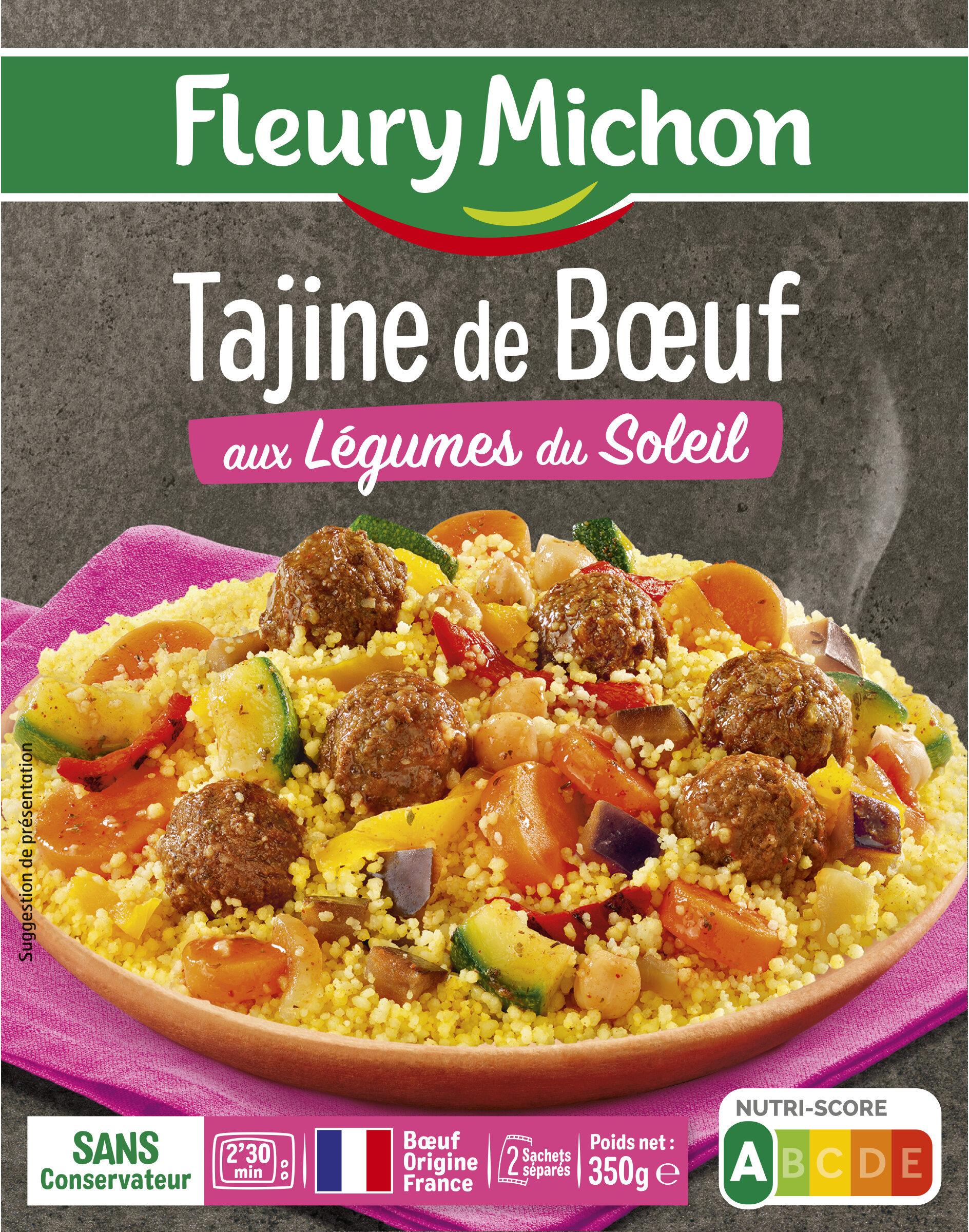 Tajine de boeuf aux légumes du soleil - Produit - fr