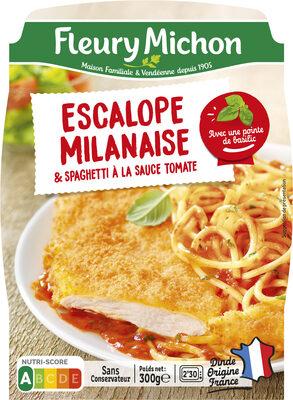 Escalope milanaise & spaghetti à la sauce tomate - Prodotto - fr