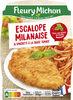 Escalope milanaise & spaghetti à la sauce tomate - Producto