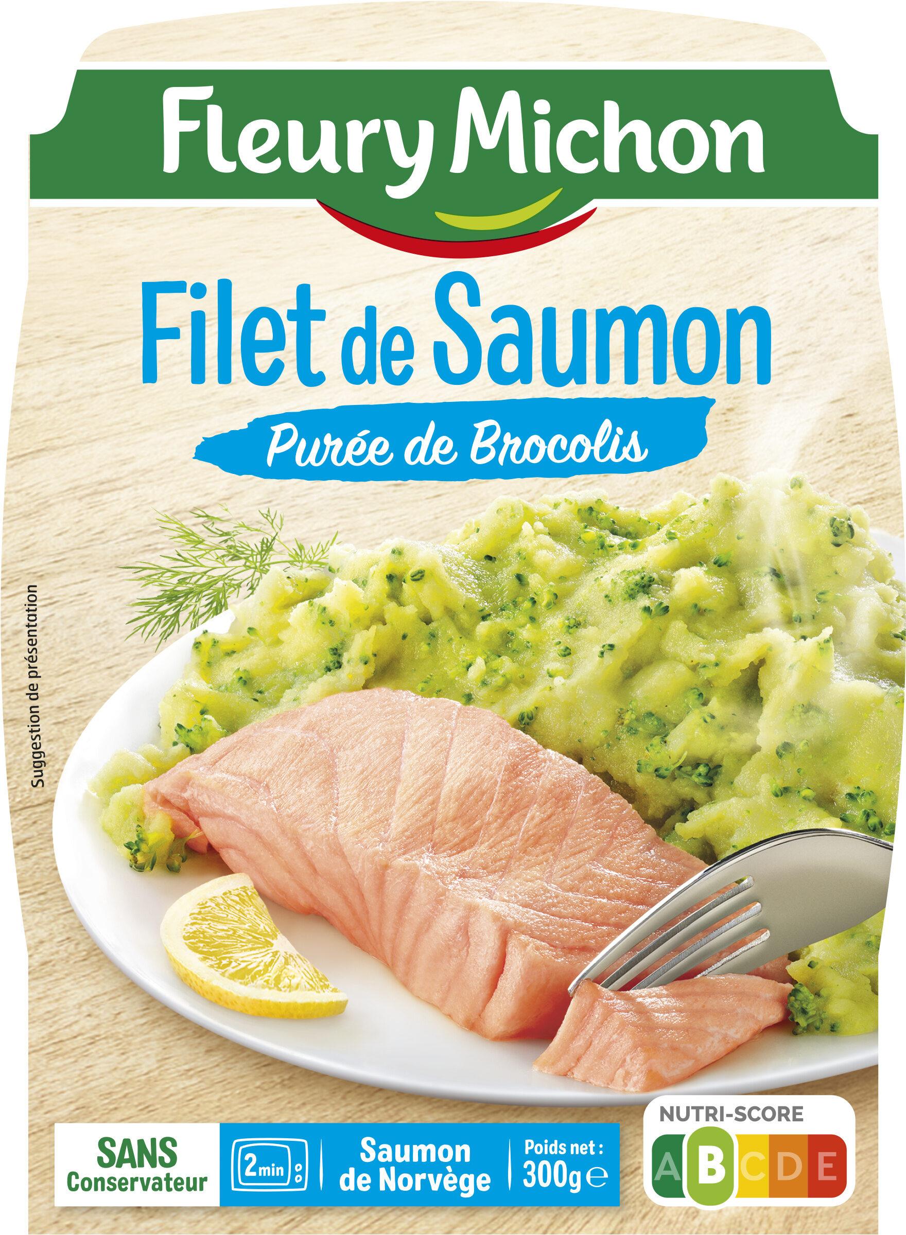 Filet de Saumon Purée de Brocolis - Product