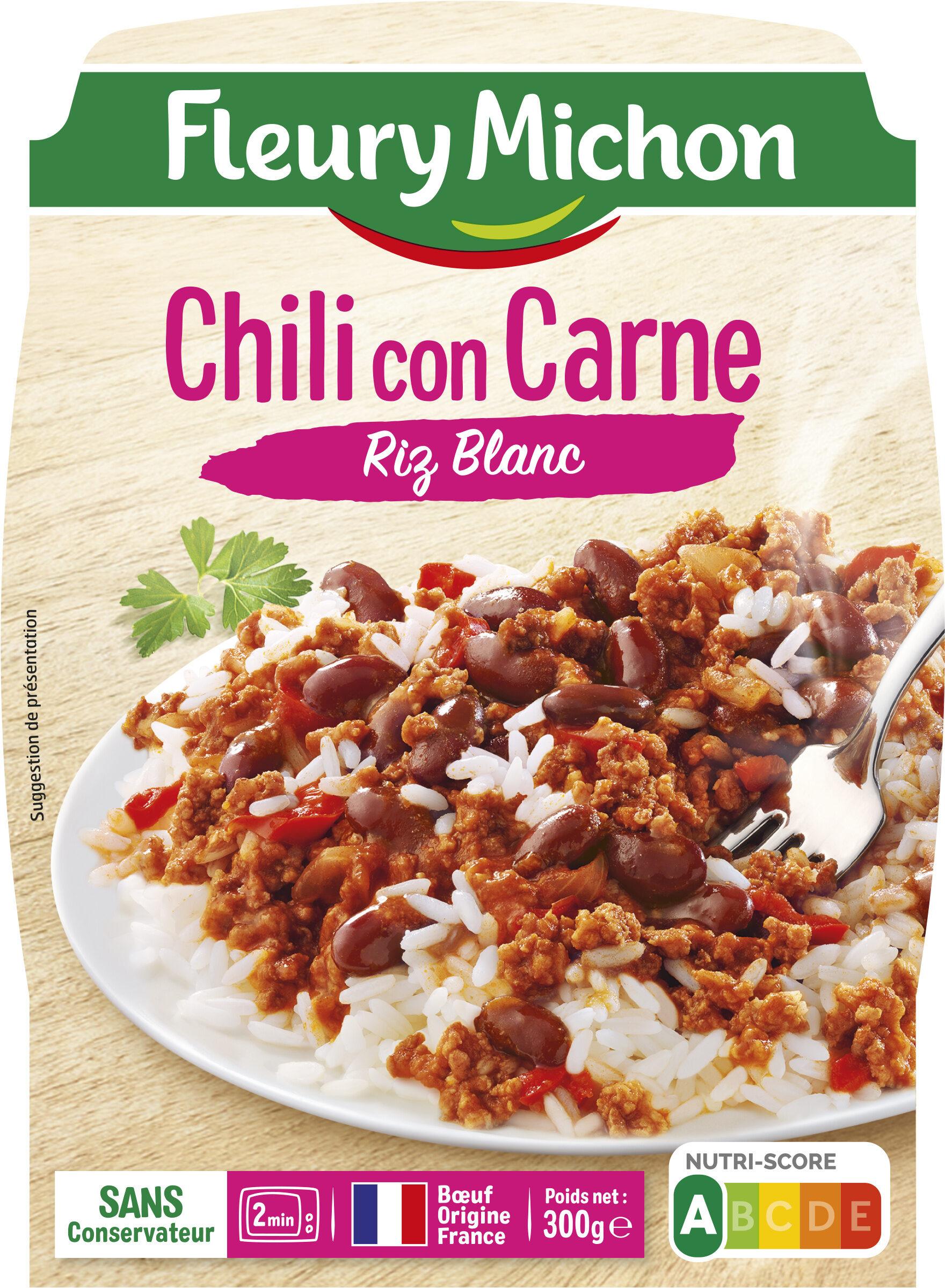 Chilli con Carne Riz Blanc - Product - fr