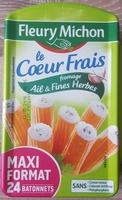 Le Cœur Frais Fromage Ail et Fines Herbes - Product - fr