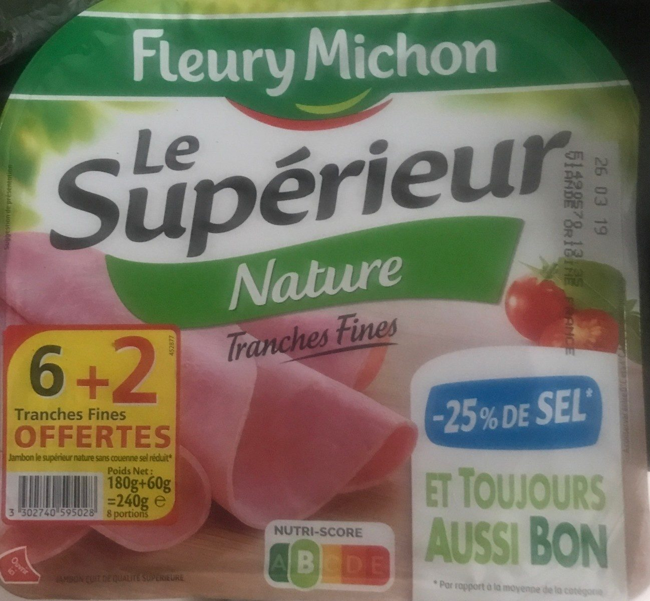 Le superieur nature - Product