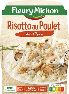 Risotto au Poulet aux Cèpes - Produit
