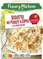 Risotto au poulet & cèpes à la crème fraîche - Produit - fr