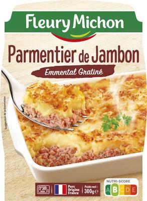 Parmentier de Jambon Emmental Gratiné - Produit - fr