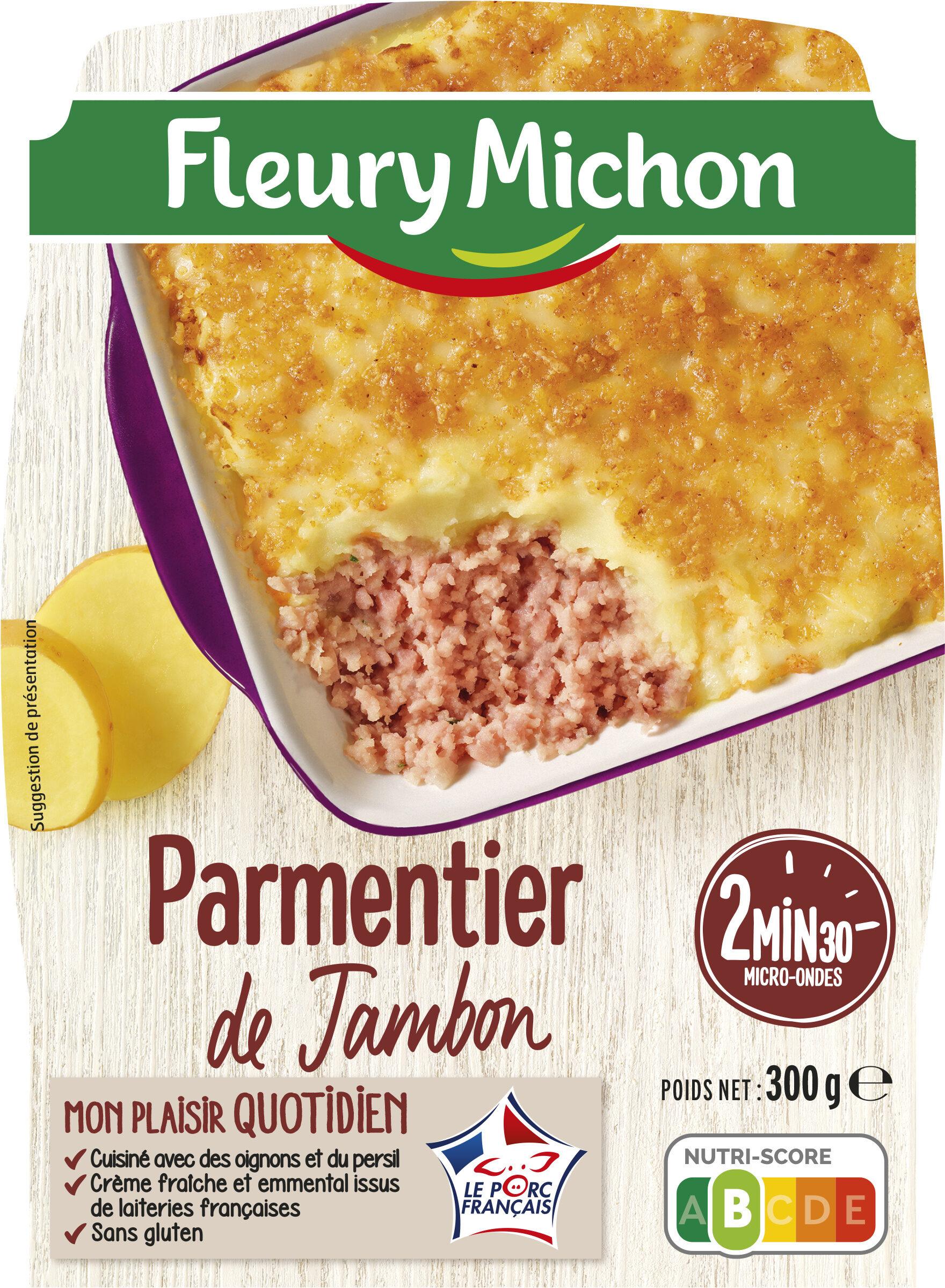Parmentier de Jambon Emmental Gratiné - Produit