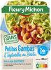 Petites Gambas Concassé de Tomates Tagliatelles au Basilic - Product