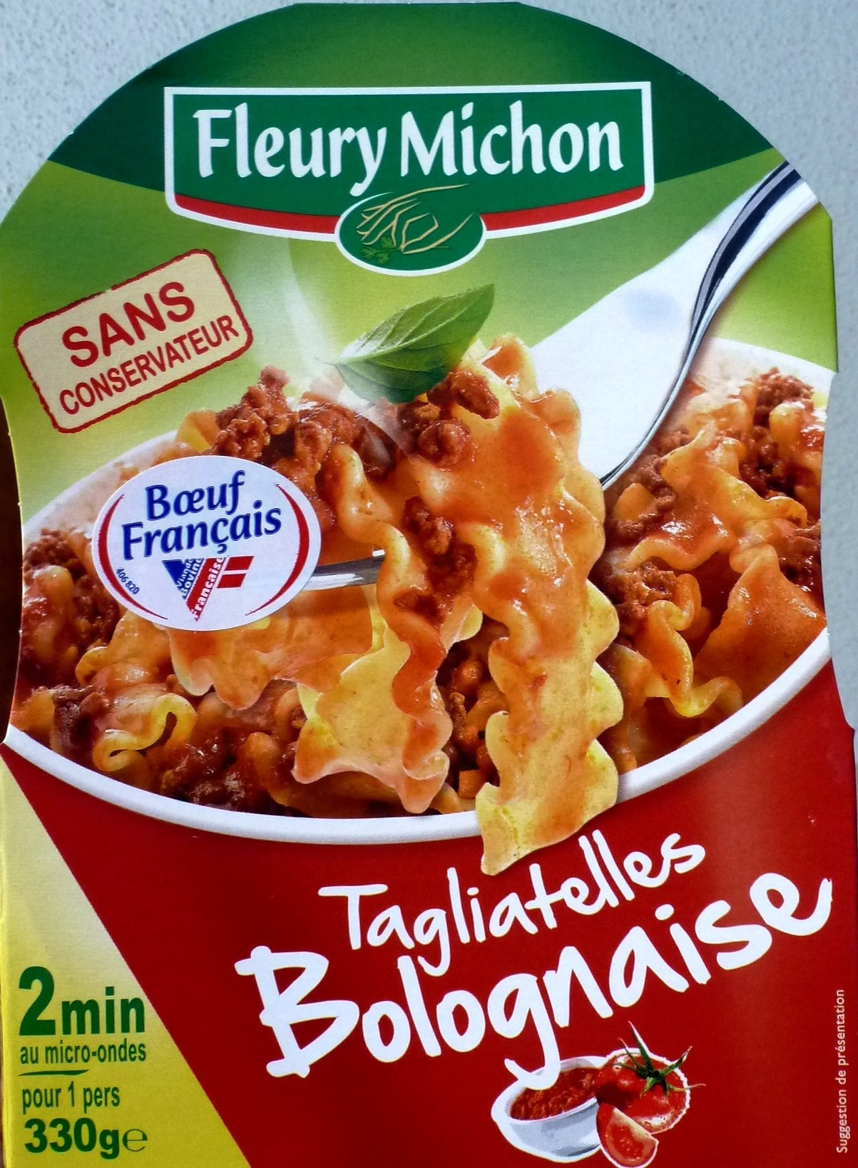 Tagliatelles Bolognaise - Produit - fr