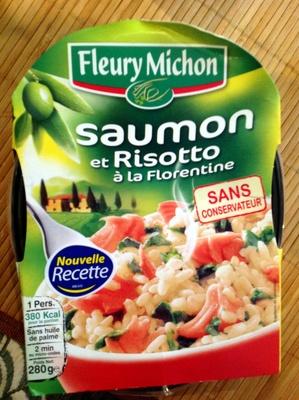 Saumon et risotto à la florentine - Produit