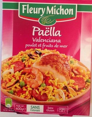 Paëlla Valenciana poulet et fruits de mer - Product