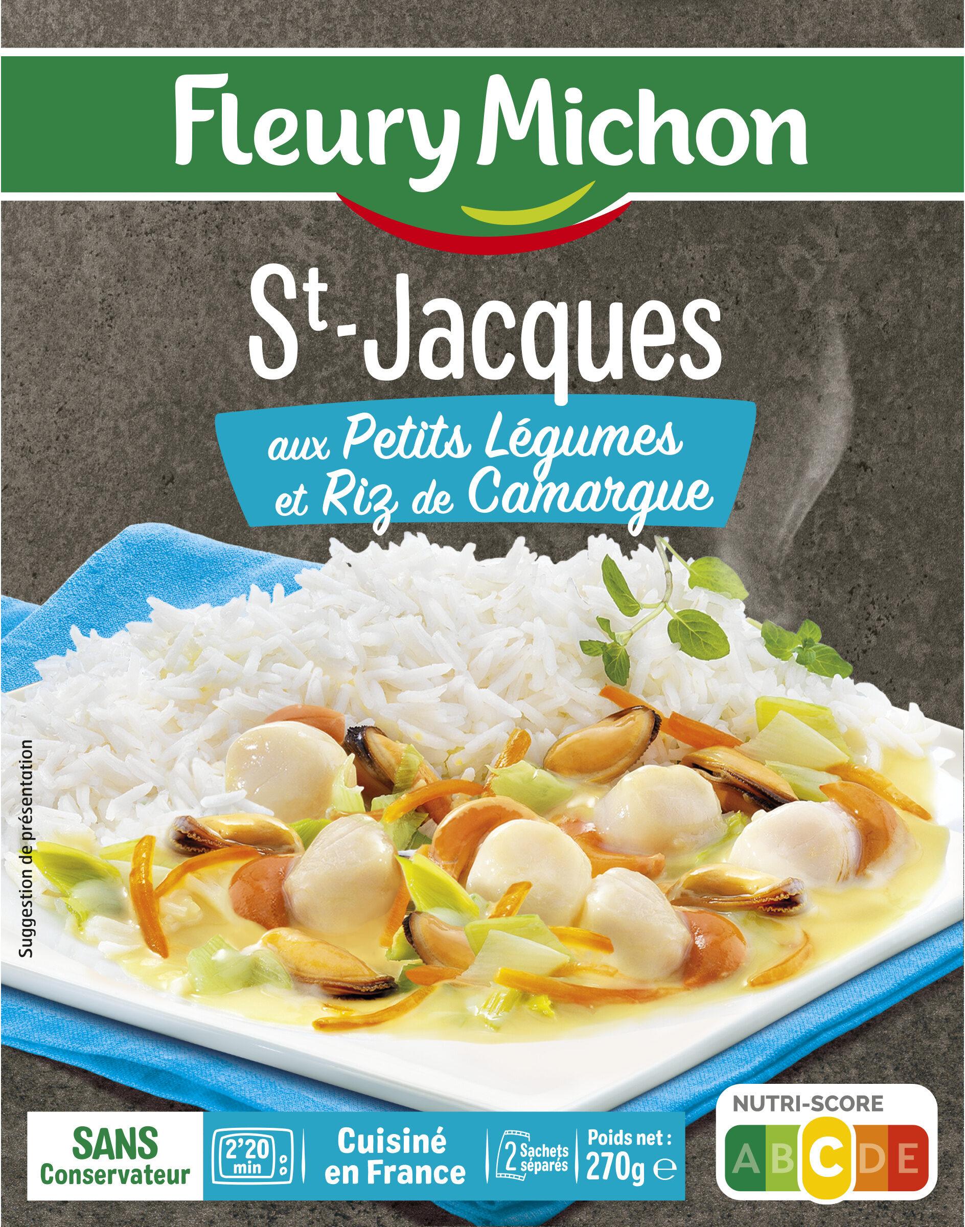 St-Jacques aux Petits Légumes et Riz de Camargue - Produit