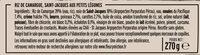 Les St-Jacques aux Petits Légumes et Riz de Camargue - Ingrediënten - fr