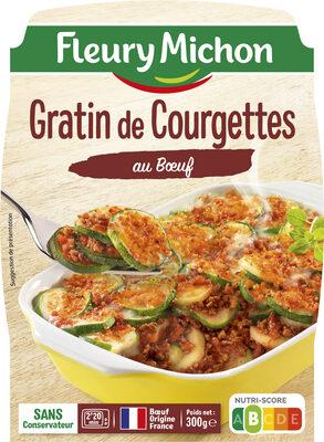 Gratin de courgettes au boeuf - Produit - fr