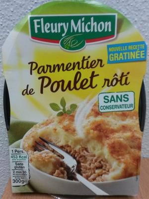 Parmentier de Poulet Rôti - Produit - fr