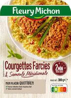 Courgettes farcies & semoule méridionale - Product - fr