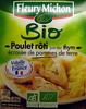 Poulet rôti jus au thym écrasée de pommes de terre Bio - Produit