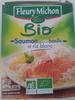 saumon sauce au basilic et riz blanc - Product