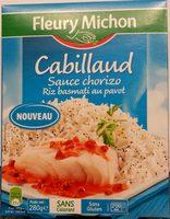 Cabillaud Sauce chorizo Riz au pavot - Product