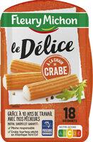 Délices de surimi à la chair de crabe - 18 bâtonnets - Produit