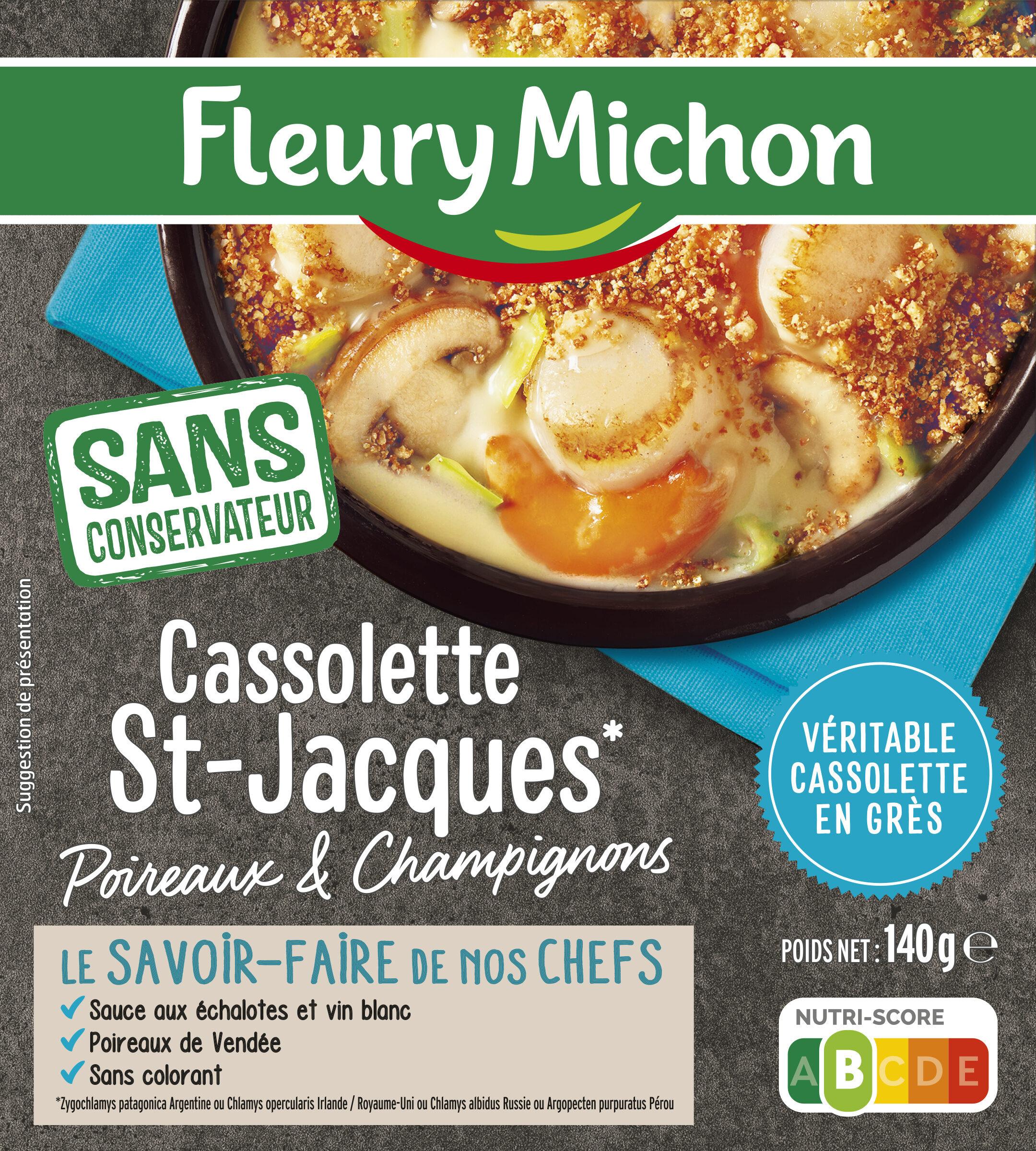 Cassolette St-Jacques Poireaux et Champignons - Product