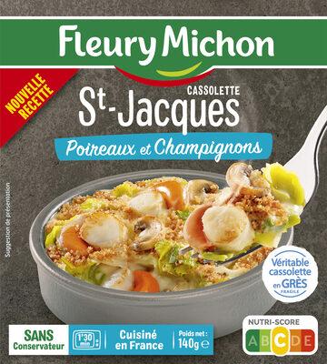 Cassolette St-Jacques Poireaux et Champignons - Produkt - fr