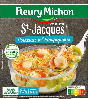 Cassolette St-Jacques Poireaux et Champignons - Produit - fr