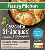 Cassolette St-Jacques* poireaux et champignons - Product