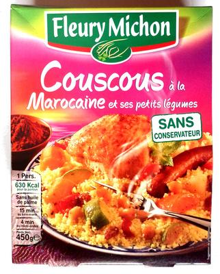 couscous à la Marocaine et ses petits légumes - Produit